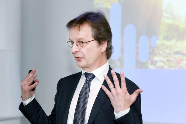 Nordean Suomen maajohtaja Ari Kaperi.