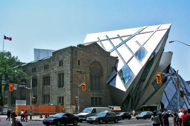 Royal Ontario -museo on upea.