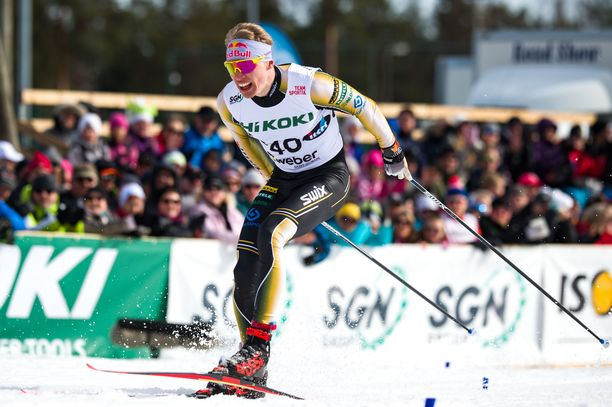 Iivo Niskanen hiihti Rossignolit jalassa vielä Äänekosken SM-hiihdoissa.