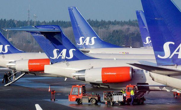 Dagens Nyheterin vahvistettu lähde kertoo, että SAS:n kone koki vaaratilanteen sotilaskoneen kanssa toissa päivänä.