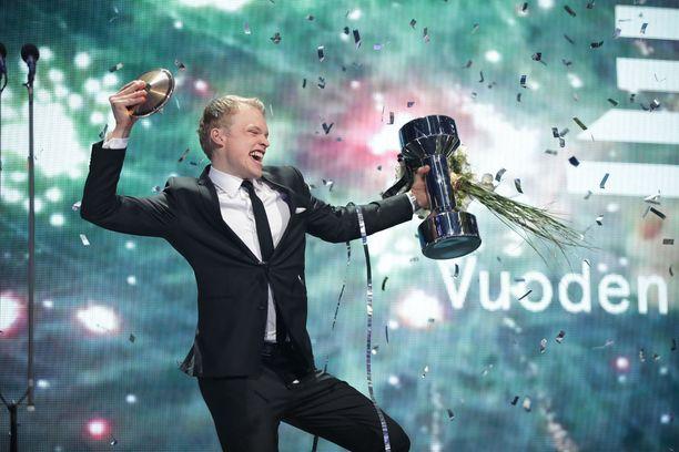 Iivo Niskanen oli Vuoden urheilija 2017.