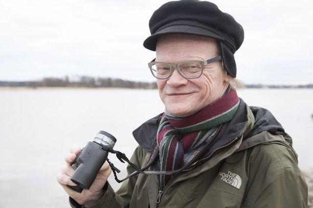 Pekka Myllykoski nautti luonnosta - ja oli vihreiden kaupunginvaltuutettu.