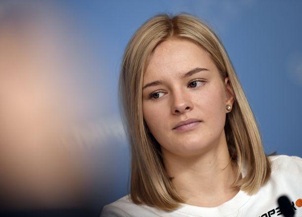Ampumahiihtäjä Venla Lehtonen on ollut yli kuukauden sivussa.