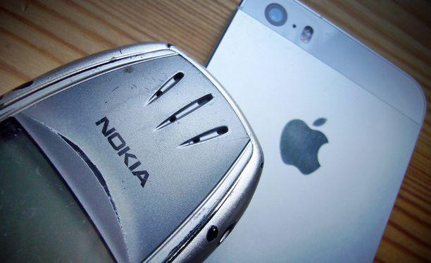 Nokia nosti uusia kanteita Applea vastaan