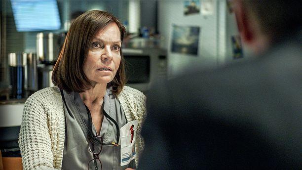 Meriläisen Syke-sarjassa näyttelemää Lenitaa syytetään seksuaalisesta häirinnästä työpaikalla.