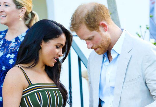 Harryn ja Meghanin tytär syntyi viime viikolla.