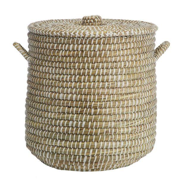 Tämä kori on tarkoitettu pyykkikoriksi.