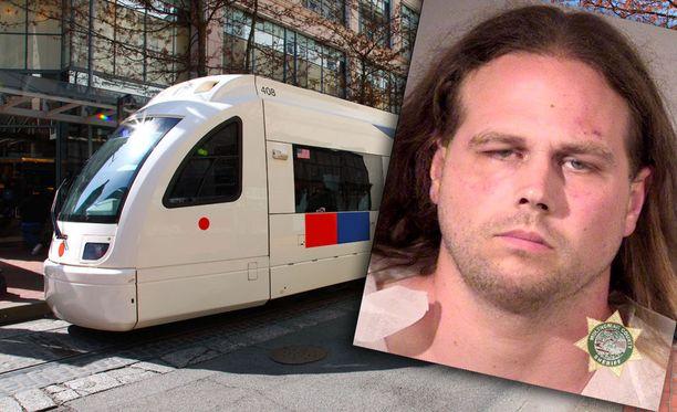 Yhdysvaltalaismies puukotti kuoliaaksi kaksi kanssamatkustajaa junassa Oregonin osavaltiossa perjantaina