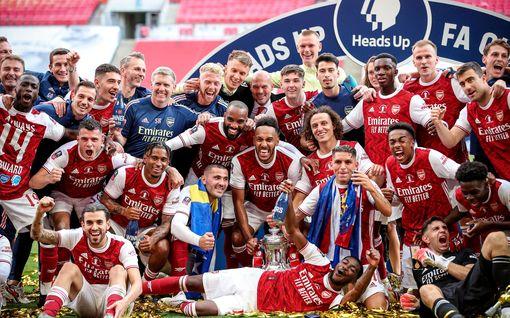 Arsenal voitti FA Cupin –  Pierre-Emerick Aubameyang pohjoislontoolaisten sankari
