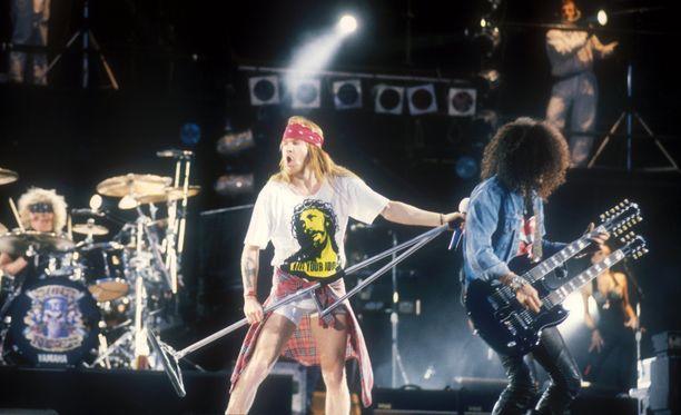 Guns N' Rosesin suurin suosio tähän mennessä on ajoittunut 90-luvun alkuun.