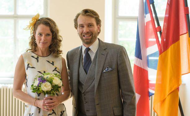 Prinssi Georg-Constantin vihittiin britannialaisen Olivia Rachelle Pagen kanssa vuonna 2015.