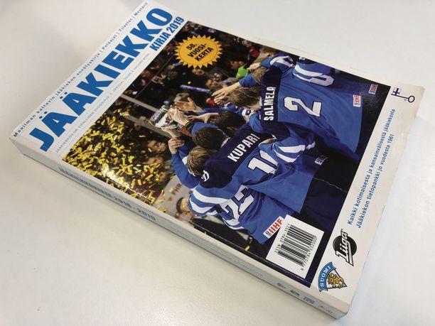 Historian viimeinen painettu Jääkiekkokirja ilmestyi vuosi sitten.