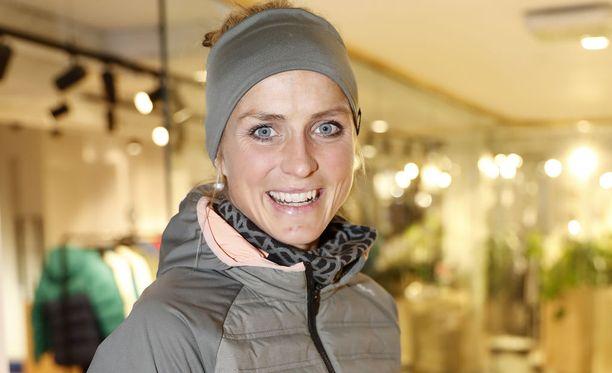 Therese Johaug on olympialaisten aikaan harjoitellut Italiassa.