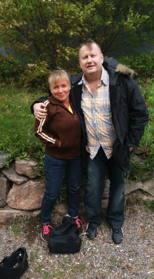 Nina ja Marco löysivät toisensa 35 vuoden jälkeen Maajussille morsian -ohjelman ansiosta.