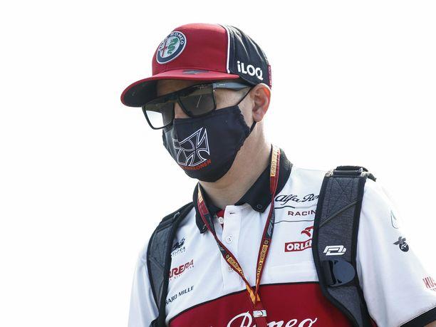 Kimi Räikkönen nousi viisi sijaa ylöspäin Silverstonen kisassa.