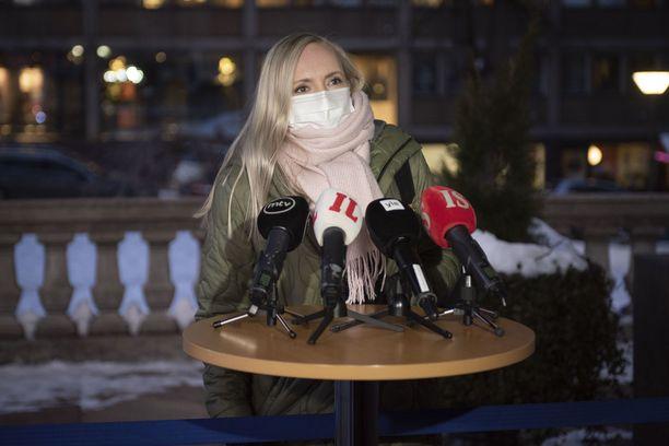 Maria Ohisalo on huolissaan pahoinvoinnin kasautumisesta.