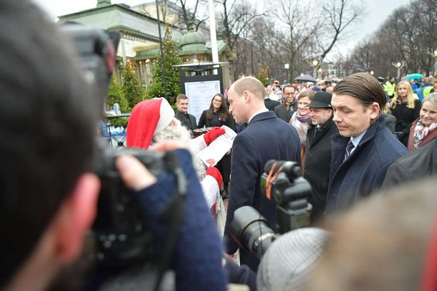 Prinssi William toi pukille joulutoivelistan.