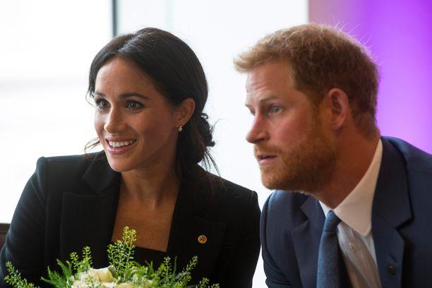 Prinssi Harry ja herttuatar Meghan avioituivat toukokuussa 2018. Pariskunta odottaa esikoistaan.