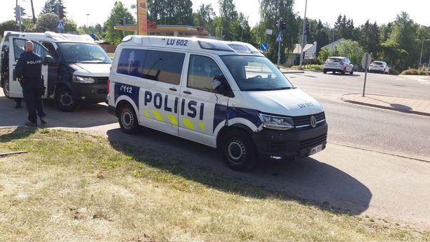 Poliisi joutui takaa-ajoon Espoossa.