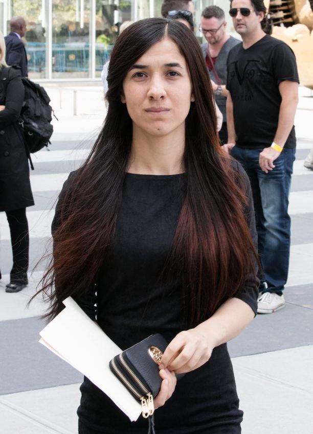 Nadia Murad on kertonut avoimesti kokemistaan kauhuista ja alkanut tehdä työtä vastustaakseen seksuaalista väkivaltaa ja ihmiskauppaa.