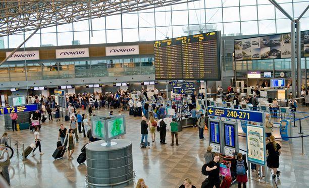 Lähtöselvityksen aika ei välttämättä muutu, vaikka lento lähtee monta tuntia myöhässä.