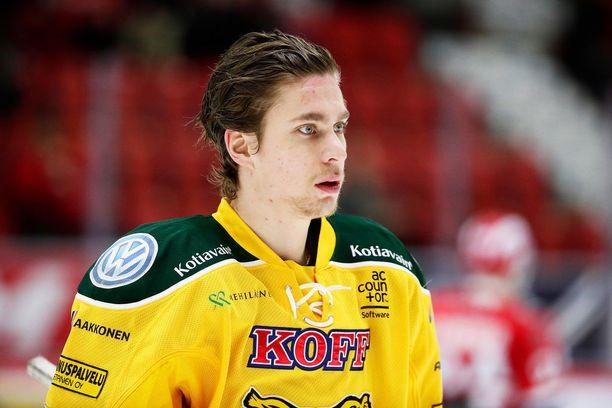 Michael Keränen siirtyi kesken viime kauden Jokereista Ilvekseen.