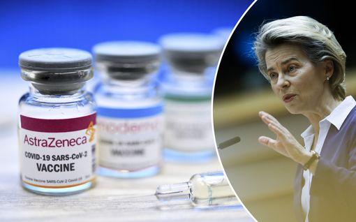 Rokoteraivo repesi AstraZenecan uutisesta – EU-maat uhkailevat oikeustoimilla, von der Leyen piti puhuttelun lääkejätin johtajalle