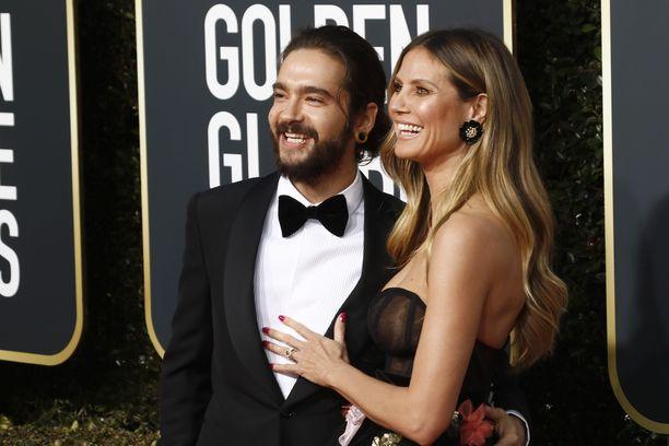 Tom Kaulitz ja Heidi Klum tammikuussa 2019.