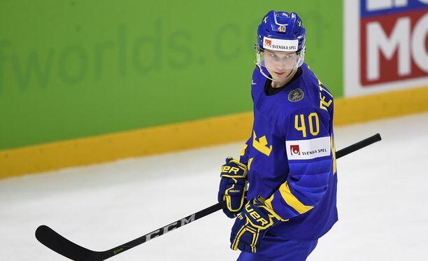 Elias Petterssonin MM-turnaus päättyi ennen aikojaan.