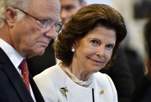 Kaarle Kustaa ja Silvia ovat ollet naimisissa jo 42 vuotta.