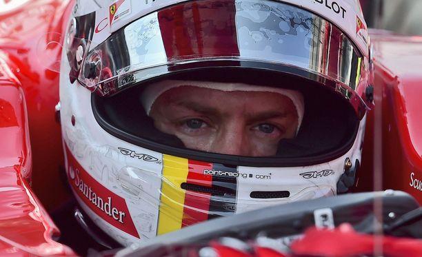 Sebastian Vettel janoaa voittoja.