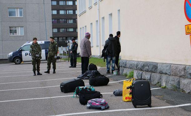 Kielteisen turvapaikkapäätöksen saanut irakilainen on oikeutettu toimeentulotukeen Suomessa. Kuvituskuva.