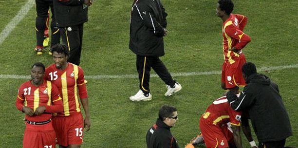 Ghanan pelaajien esitystä MM-kisoissa ylistettiin kotimaassa.