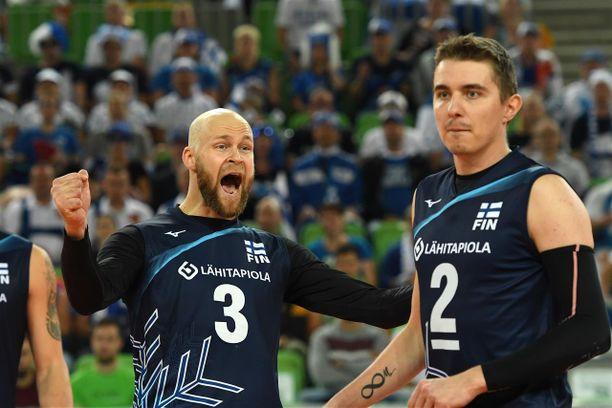 Antti Siltalan ja Eemi Tervaportin johtama Suomi otti pakkovoiton Turkista.
