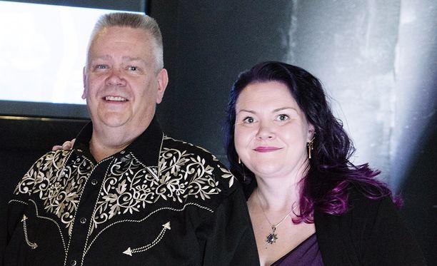 Aki ja Heli Palsanmäki ovat olleet naimissa jo yli 10 vuotta.