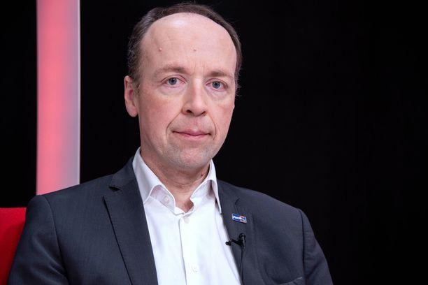 Jussi Halla-aho vieraili ILTV:n Sensuroimaton Päivärinta -ohjelmassa viime joulukuussa.