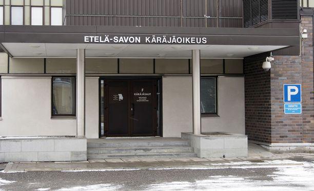 Etelä-Savon käräjäoikeus pui muutama kesä sitten sattunutta väkivaltatapausta. Arkistokuva.