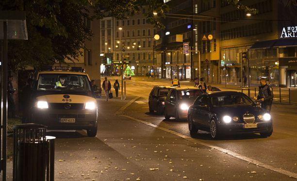 Helsingin poliisi puhallutti viime viikolla lähes 4500 kuljettajaa.