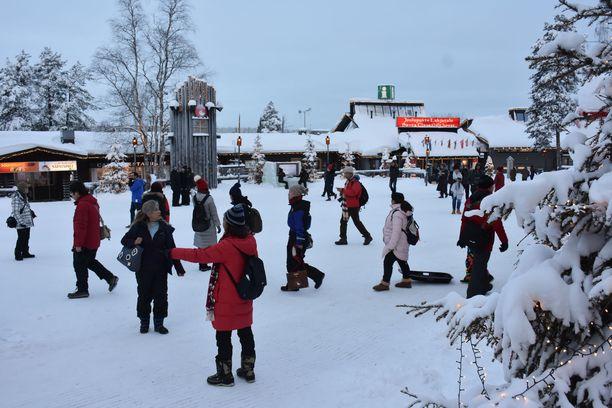 Valvontaisku tehtiin Rovaniemellä 20.2. Arkistokuva Rovaniemeltä 2018.