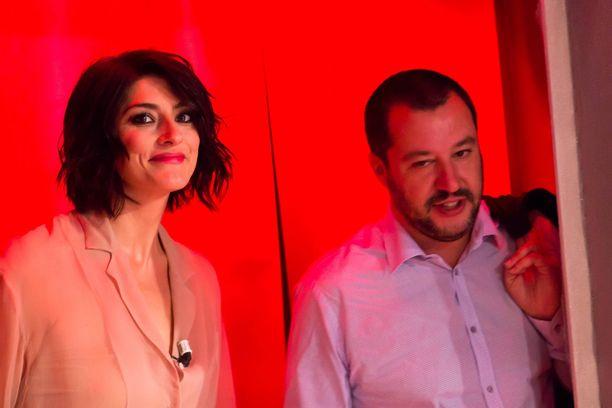 Elisa Isoardi ja Matteo Salvini eivät ole enää pari.