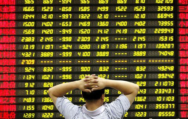 """Kiinan taloudessa on """"aitoja ongelmia"""", sanoo asiantuntija."""