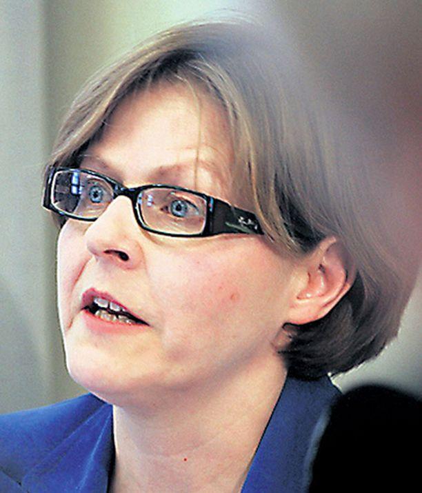 Heidi Hautala iski Paavo Lipposen kimppuun kuin isänsä Tali-Ihantalassa.