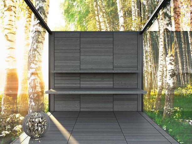 Kolmas malli on sauna.