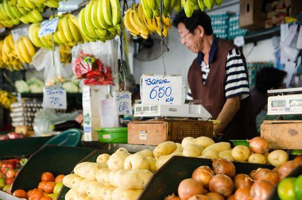 Perunan hinta oli Campinasissa perjantaina moninkertaistunut 6,5 realiin kilolta eli noin 1,5 euroon. Samankaltainen hinannousu koski myös muita tuoretuotteita.