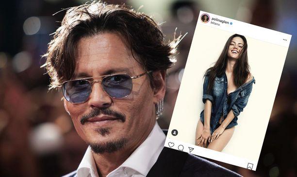 Johnny Depp ja tanssija Polina Glen ehtivät puhua jopa avioliitosta.