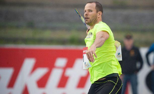 Tero Pitkämäki voitti Lahden eliittikisat tuloksella 82,80.