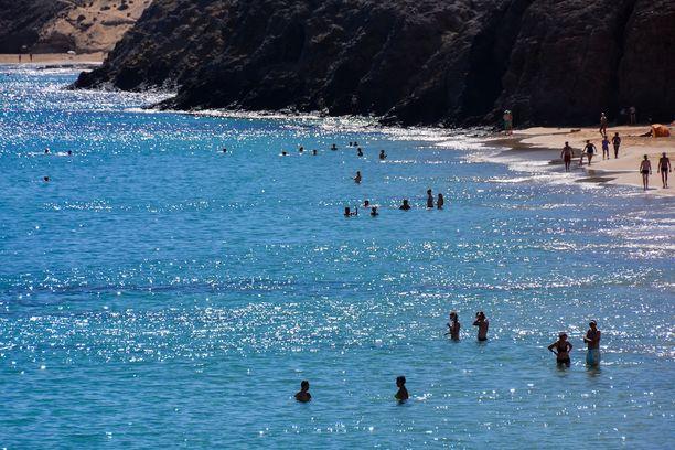 Onnettomuus tapahtui Lanzaroten Playa Blancassa, Kanariansaarilla.