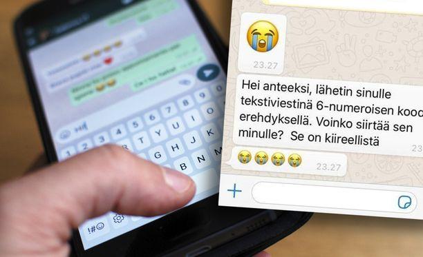 Whatsappissa leviää jälleen huijausviesti.