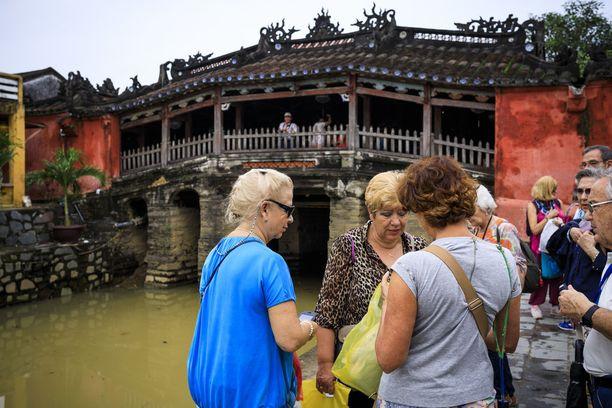 Katettu puusilta Cau Nhat Ban on Hoi Anin tunnetuin maamerkki.