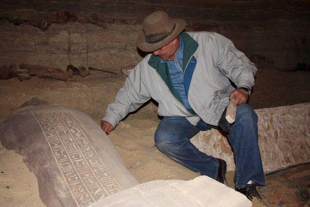 Löydön teki arkeologi Zahi Hawass.